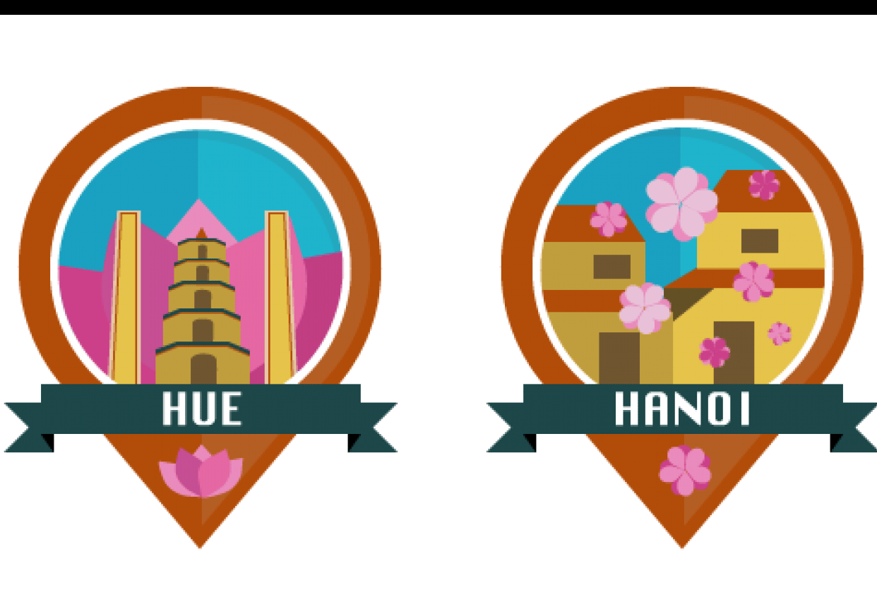 Cities in Vietnam - student project