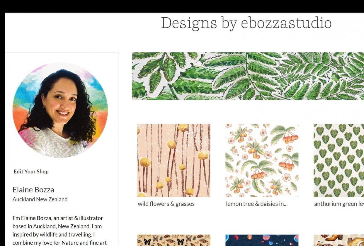 Elaine Bozza @ebozzastudio - student project