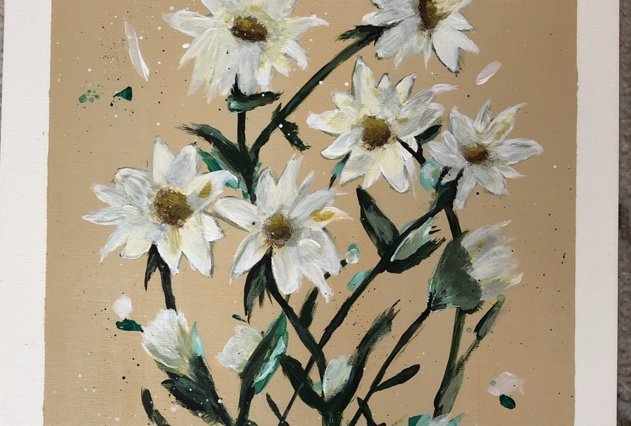 Expressive daisies two ways - student project