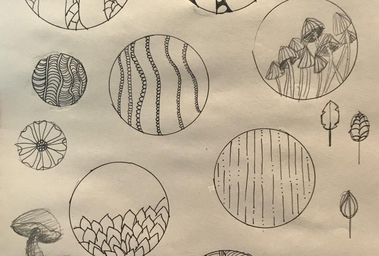 botanical/patterns - student project