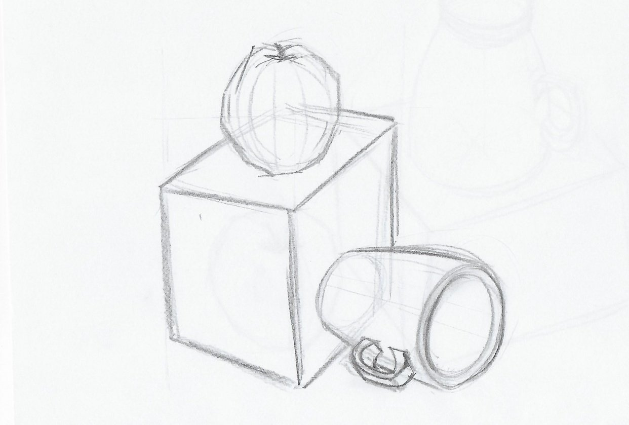 Form & Space / 3D Drawing & Perspective - student project