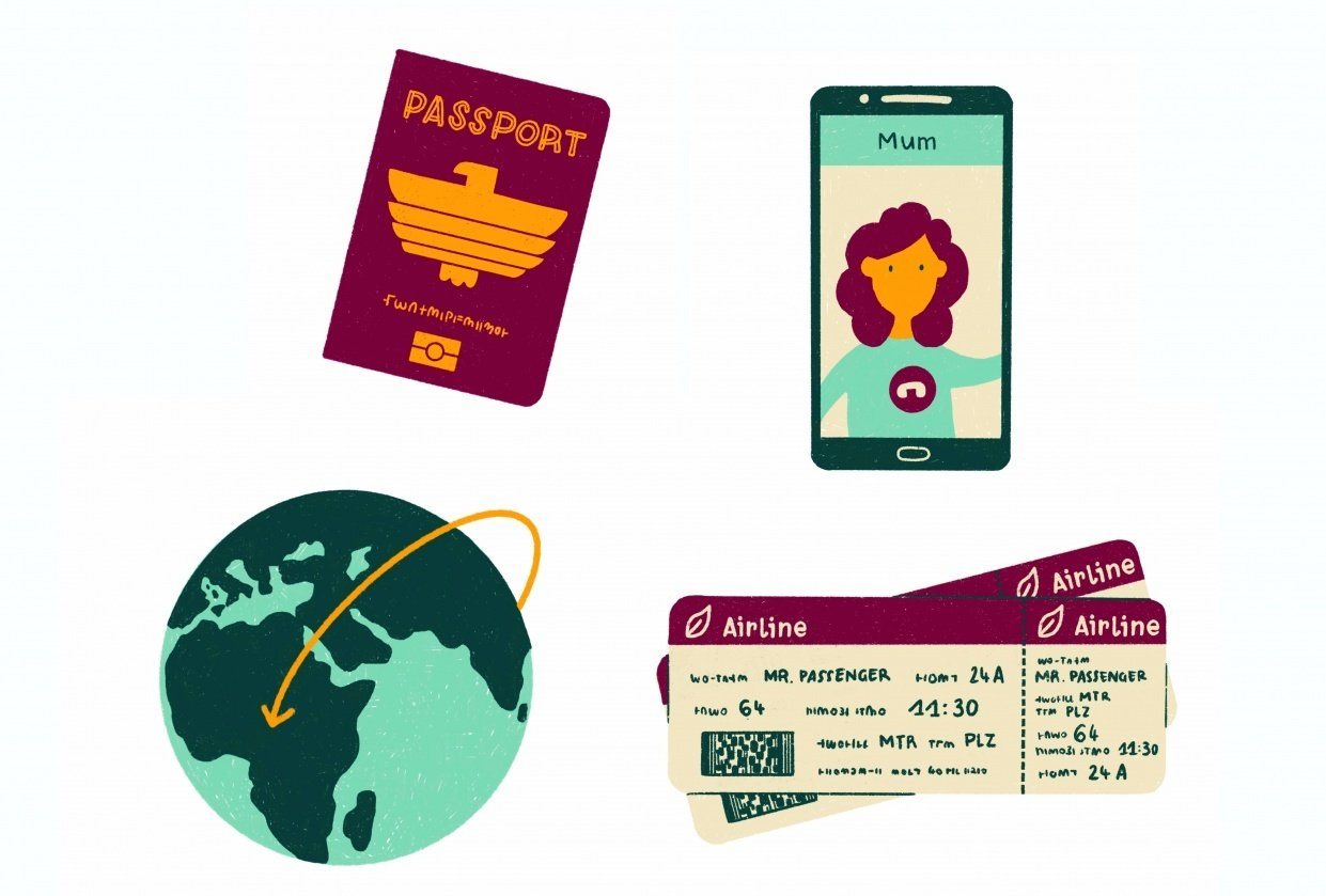 Expat Life: The challenges of living abroad - student project