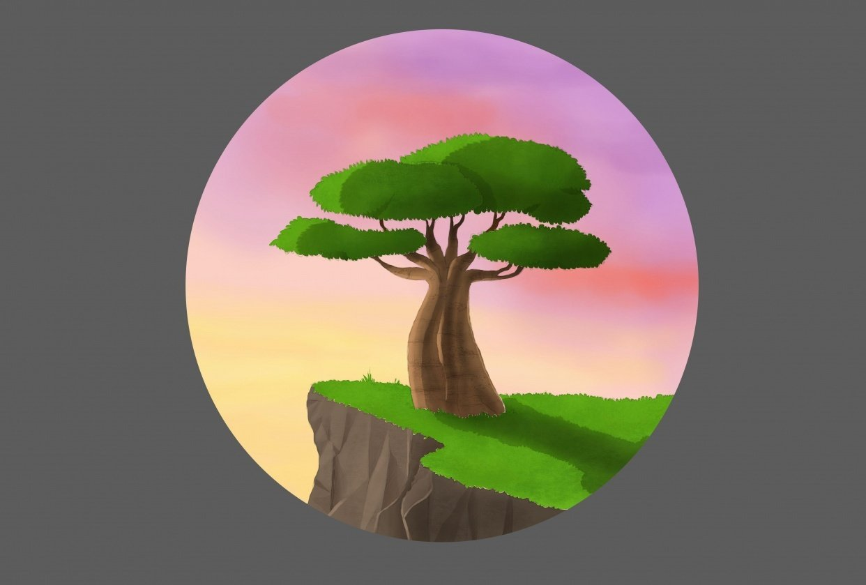 Baobab tree - student project