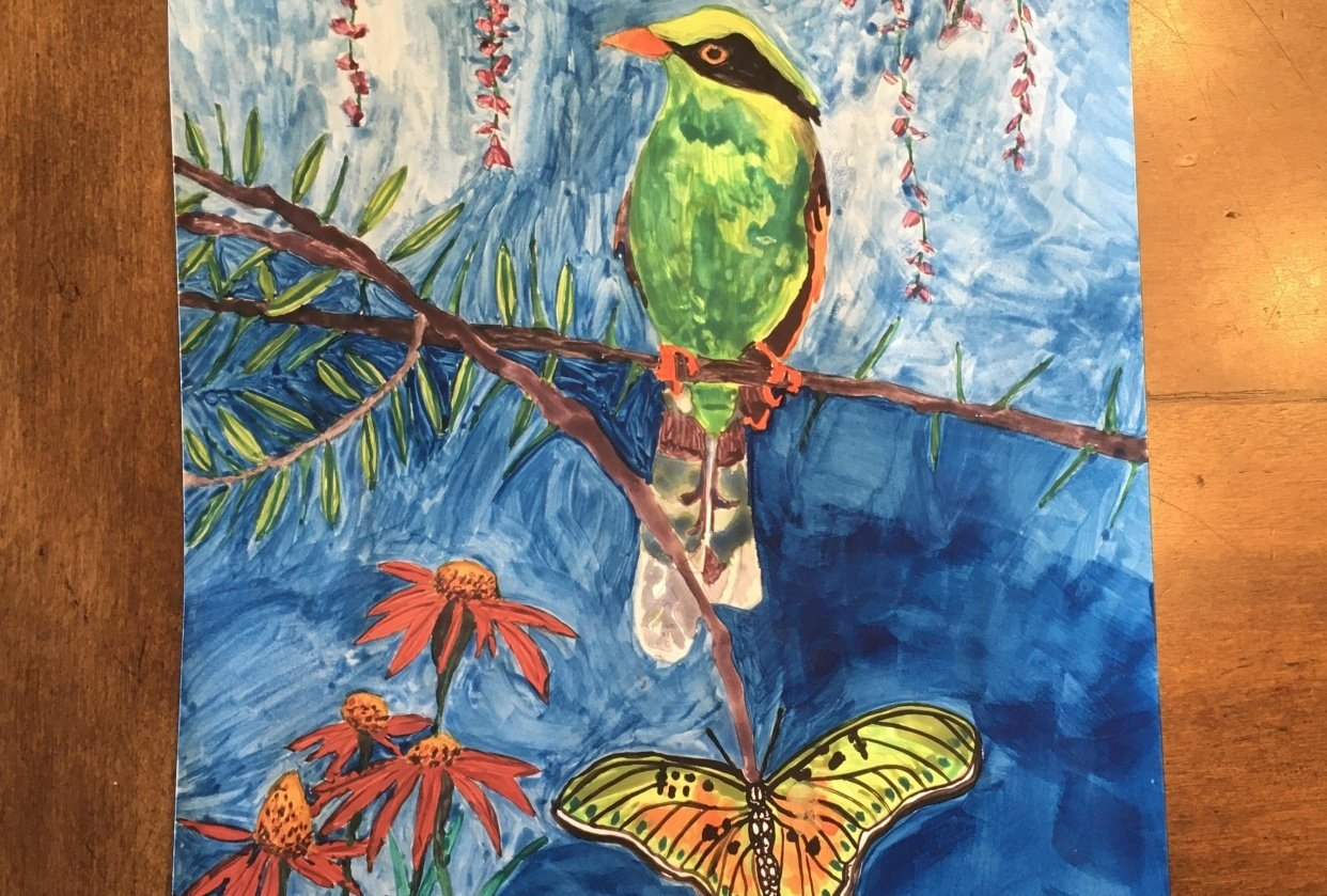 Green Magpie - student project