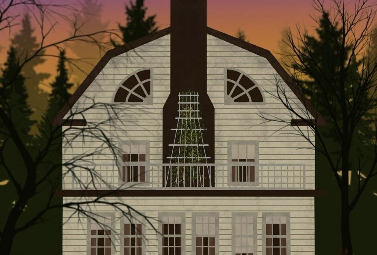 Amityville Horror house - student project