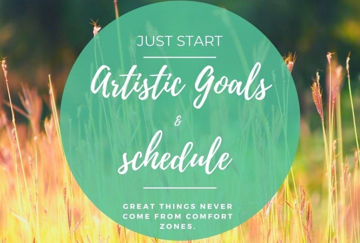 Artistic Goals & Schedule - student project
