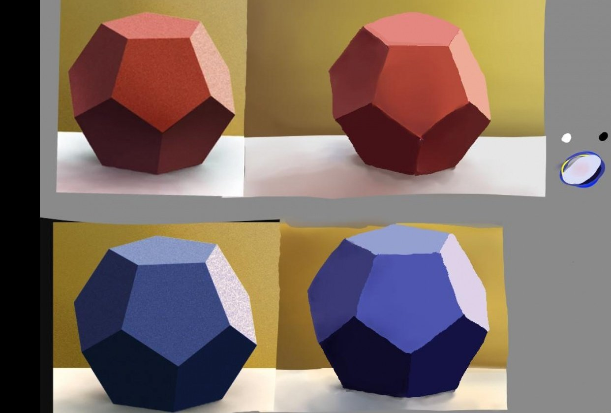 Beginner colour theory - student project