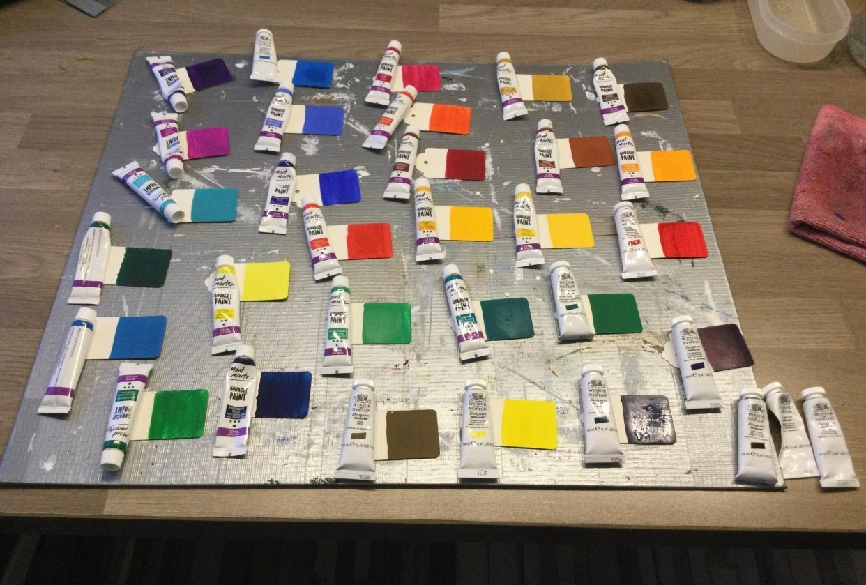 Swatch Tags - student project