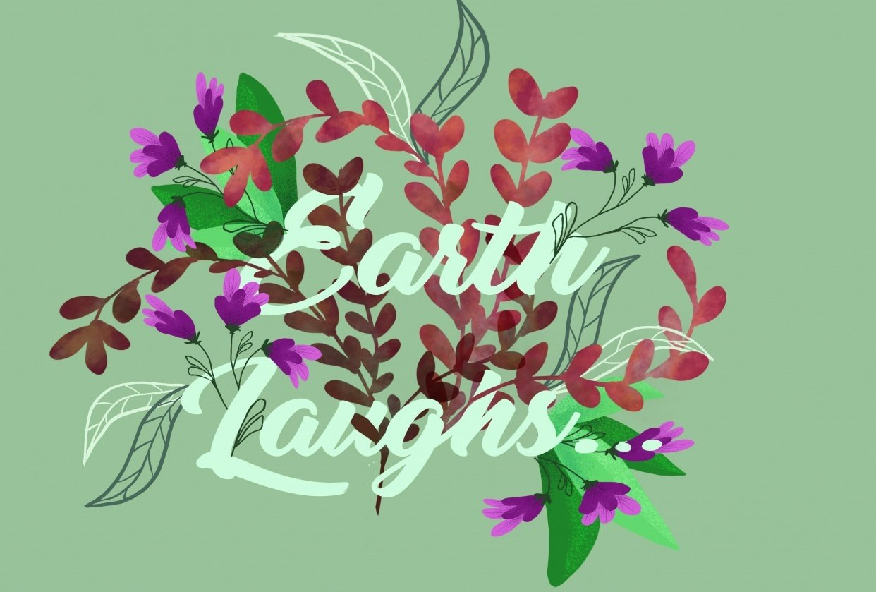earth laughs in flowers - student project