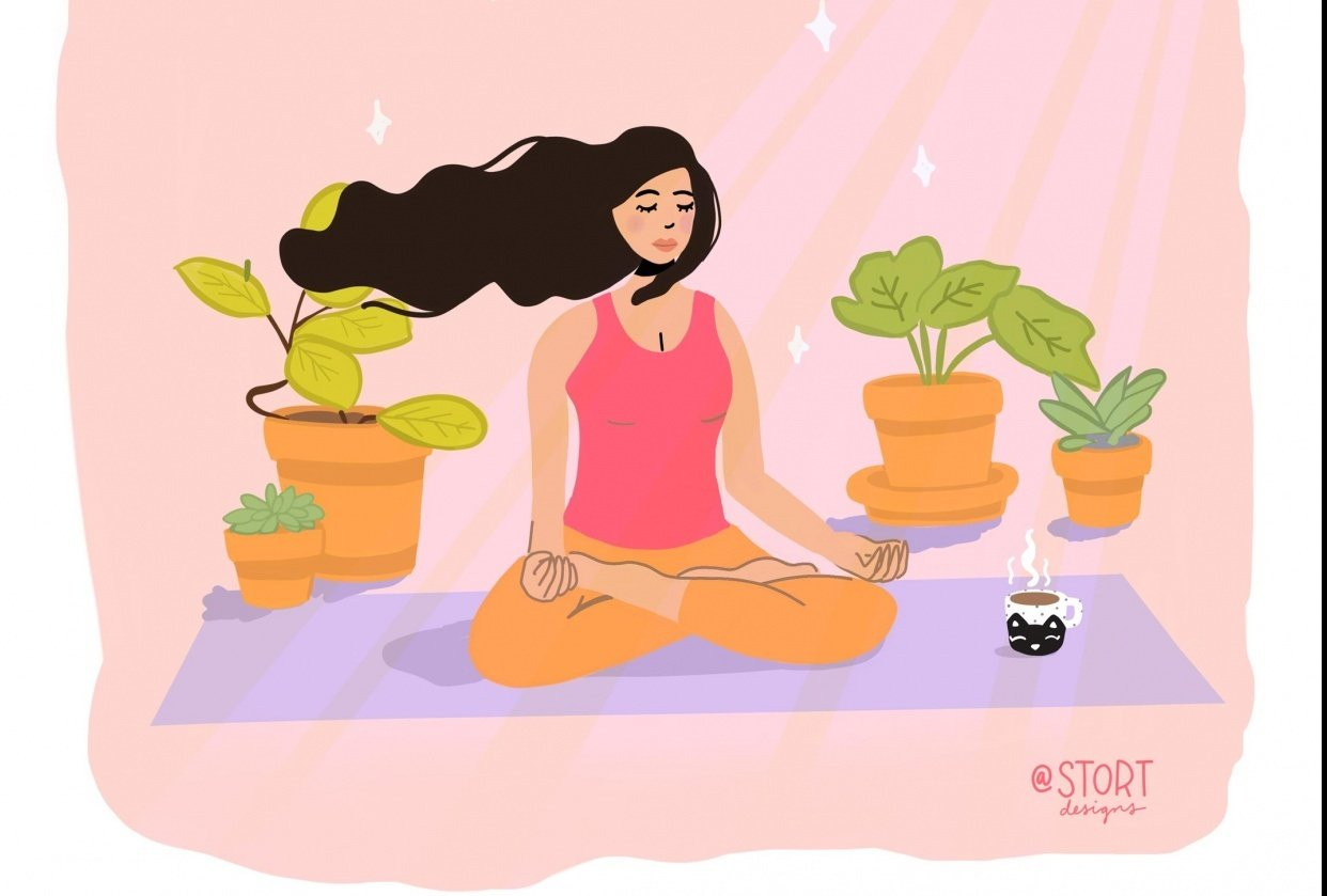 Yoga Chill - student project