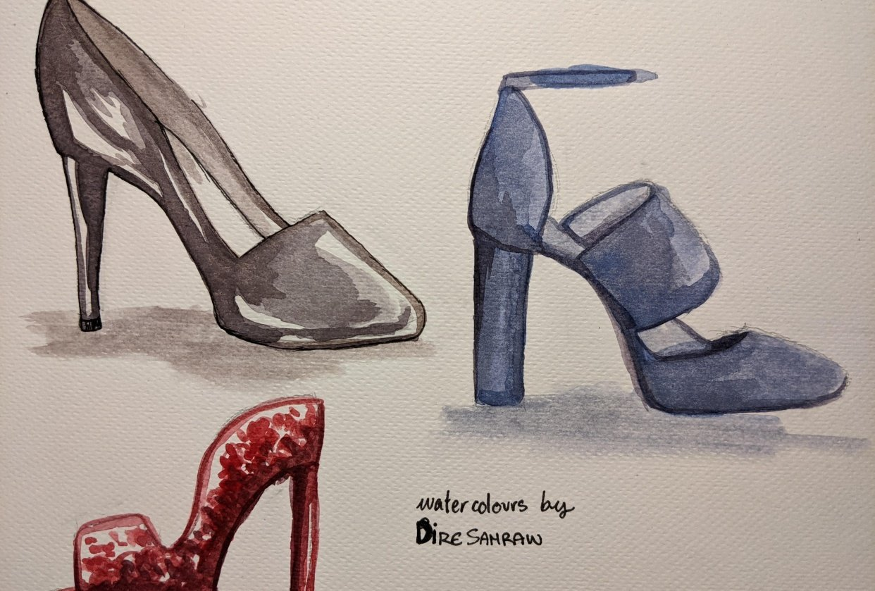 Shoe Textures - student project