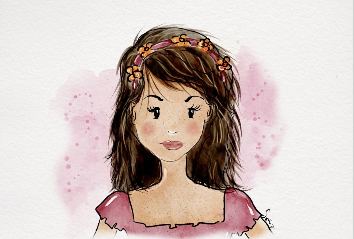 Cute portrait - student project