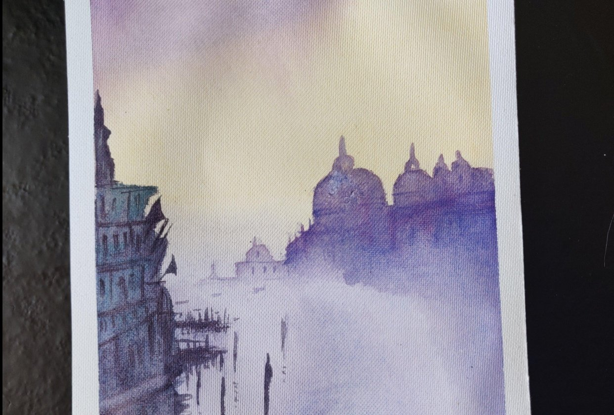 Painting Venice - student project