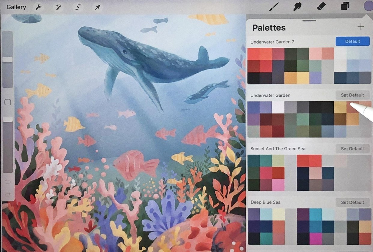 Underwater Scene - student project