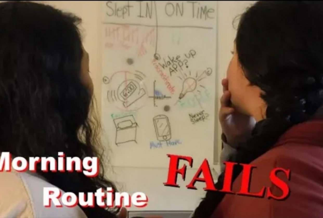 Morning Routine Fails - student project