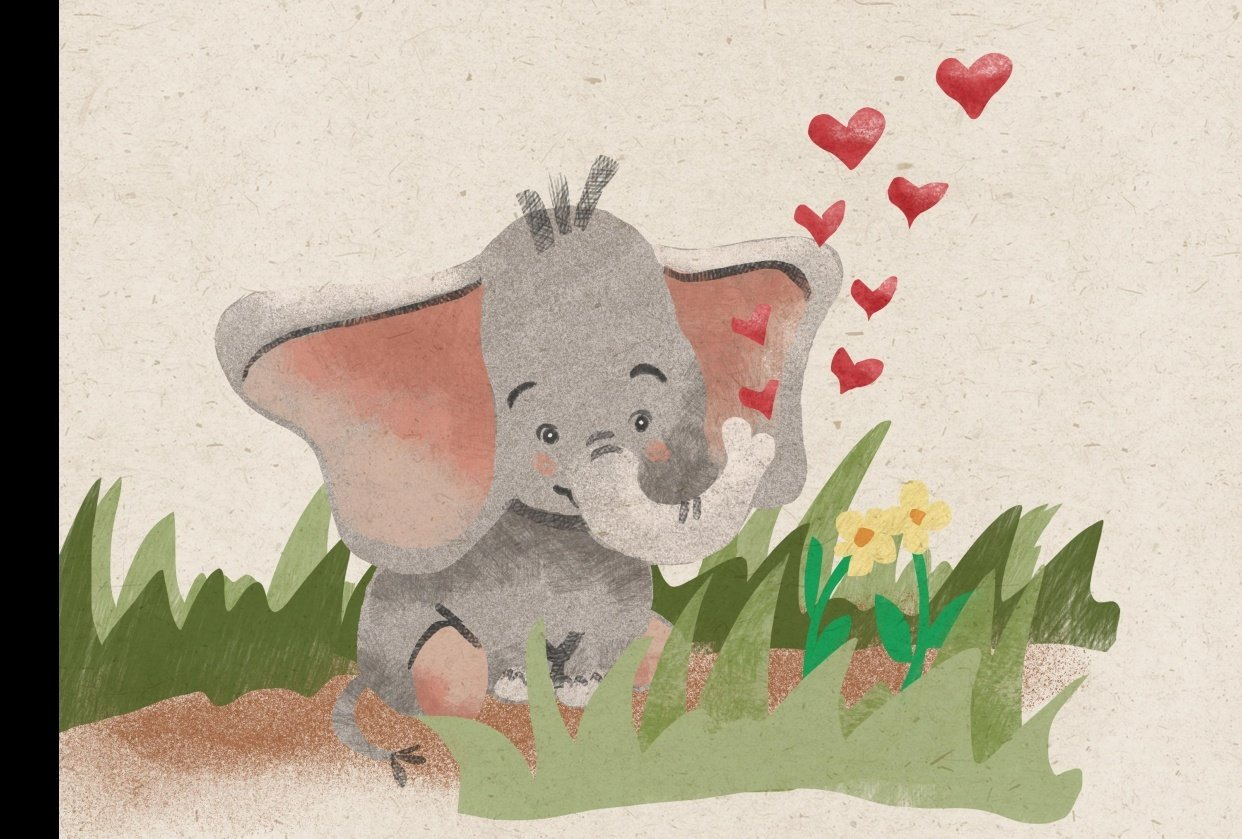 Cute Elephant - student project