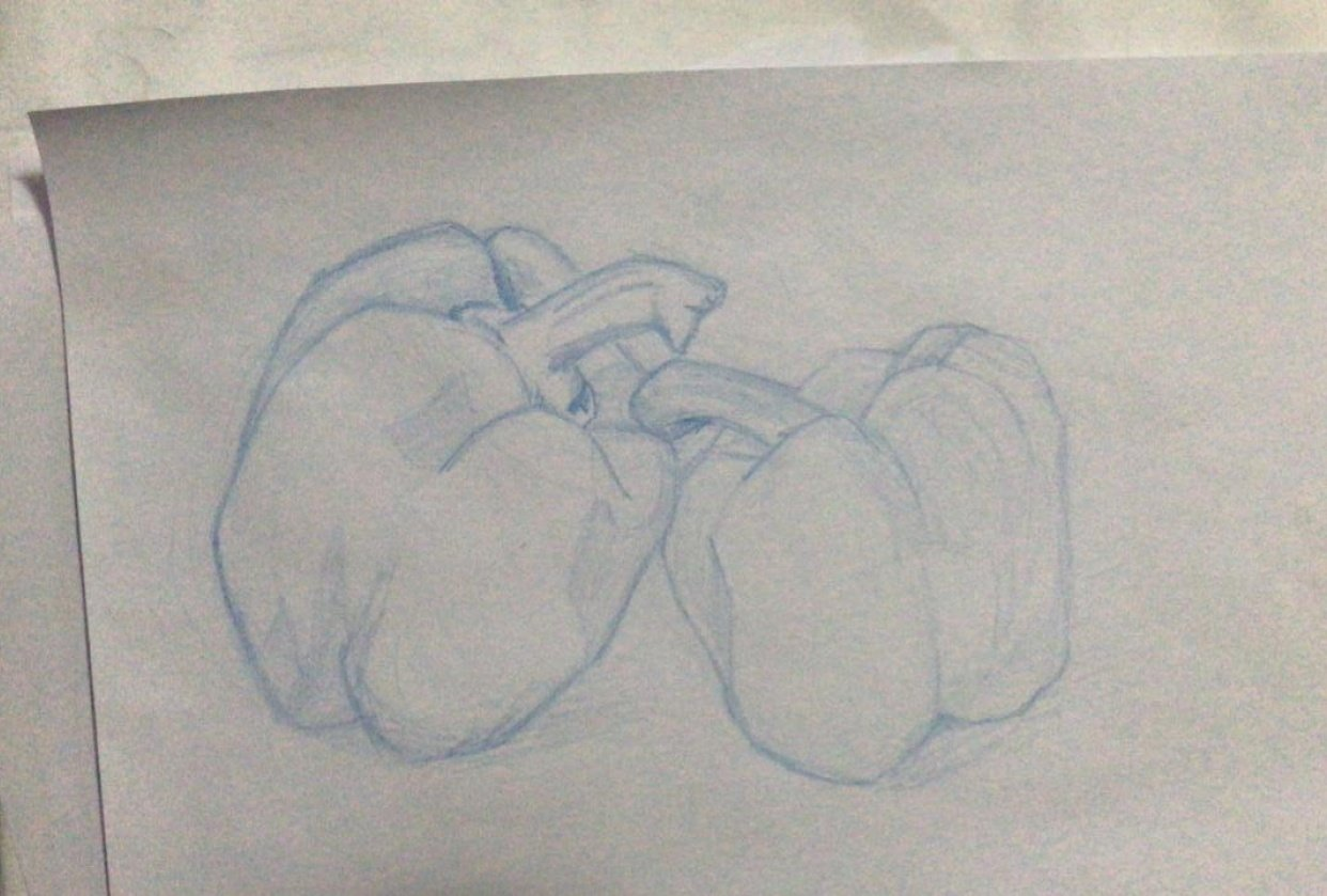 Contours & Foreshortening - student project