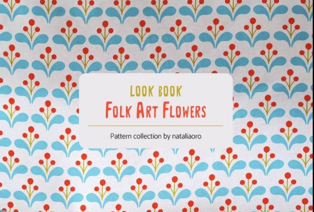 Look Book Folk Art Flowers 2021   nataliaoro - student project