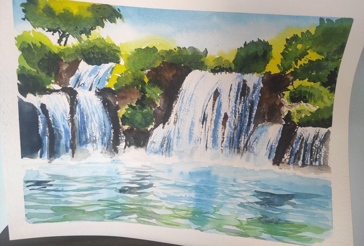 waterfall - student project