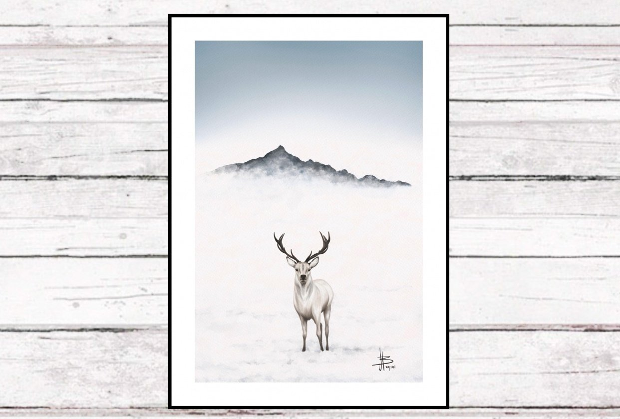 Mountain deer - student project