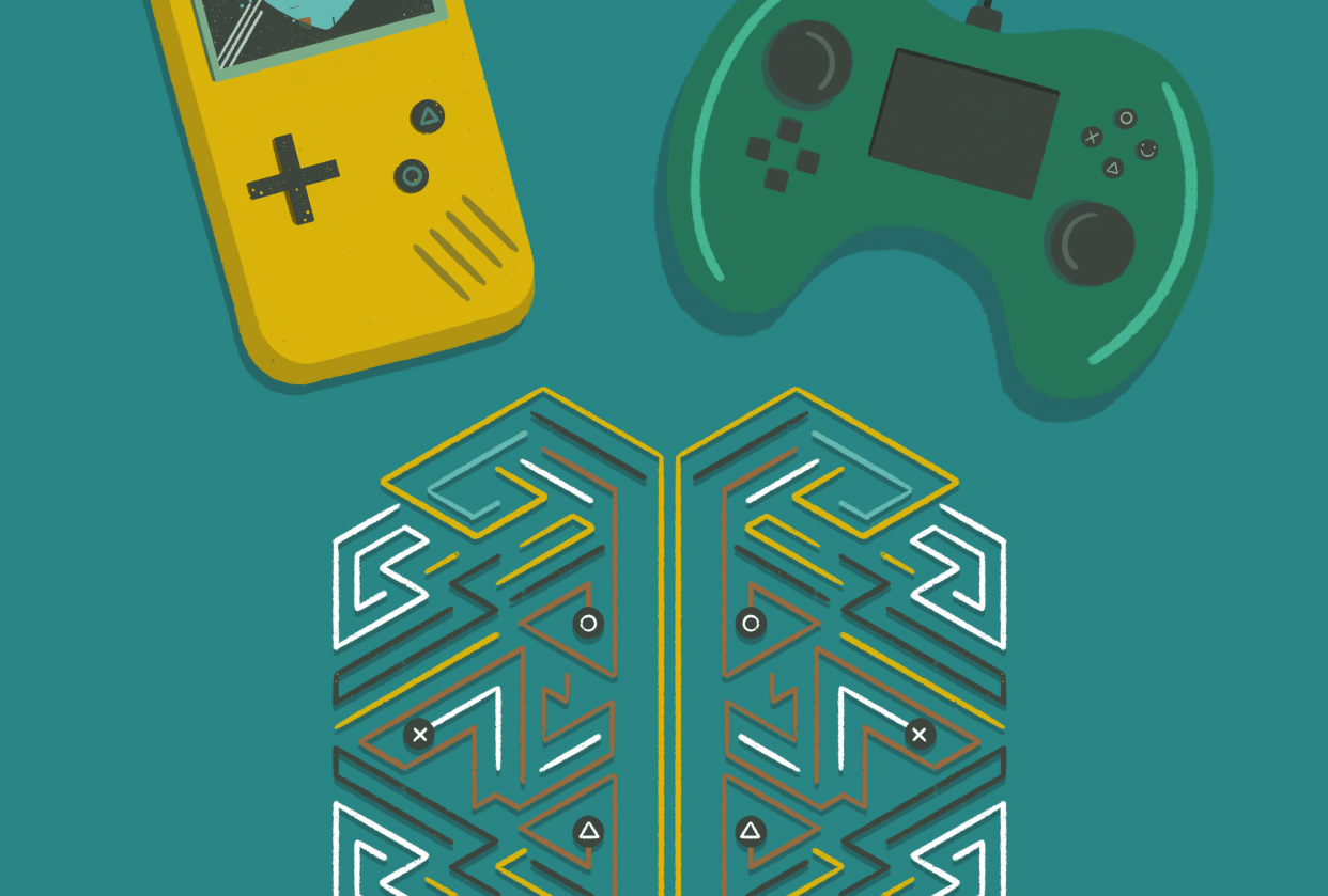 Gaming for better mental health - student project