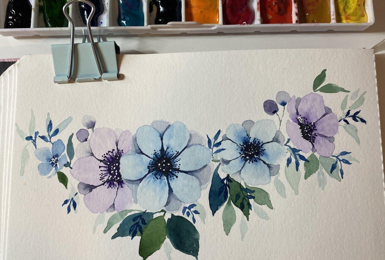 Florals - student project