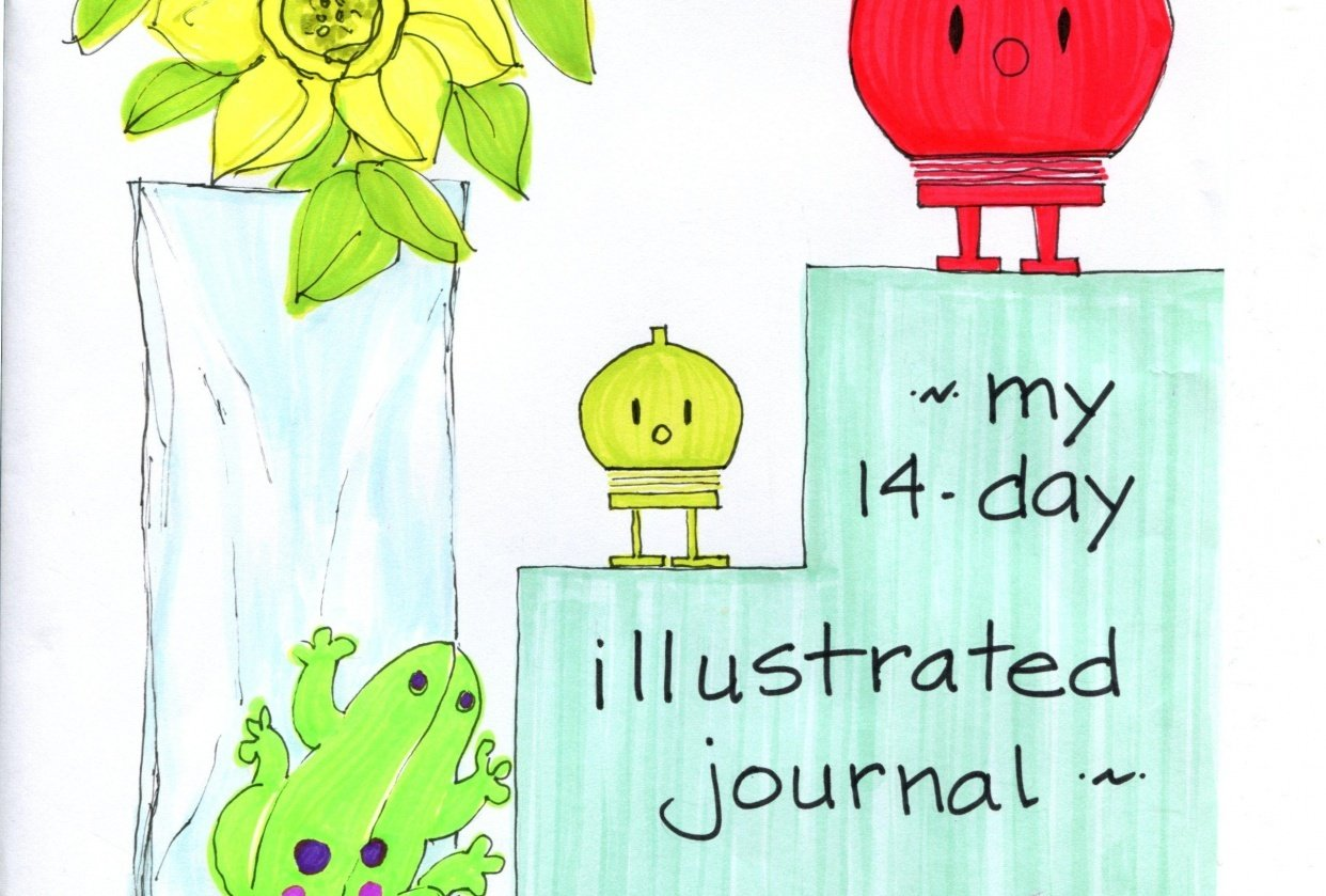 my 14-day illustrated journal - student project