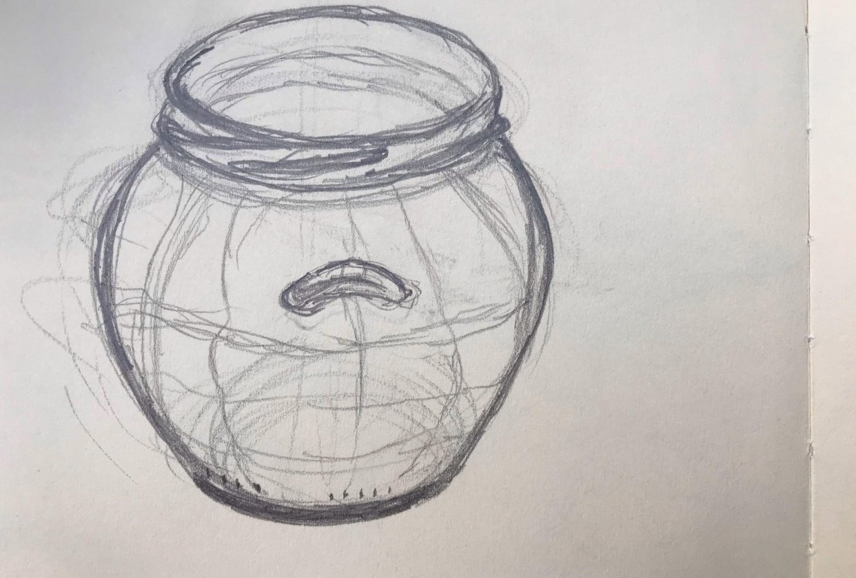 Starting to draw the contours - student project