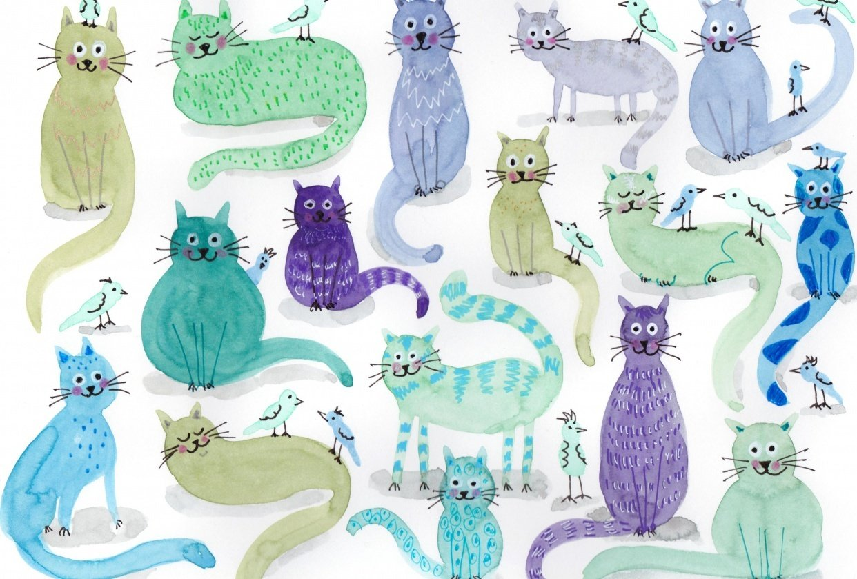 Blue Cats - student project