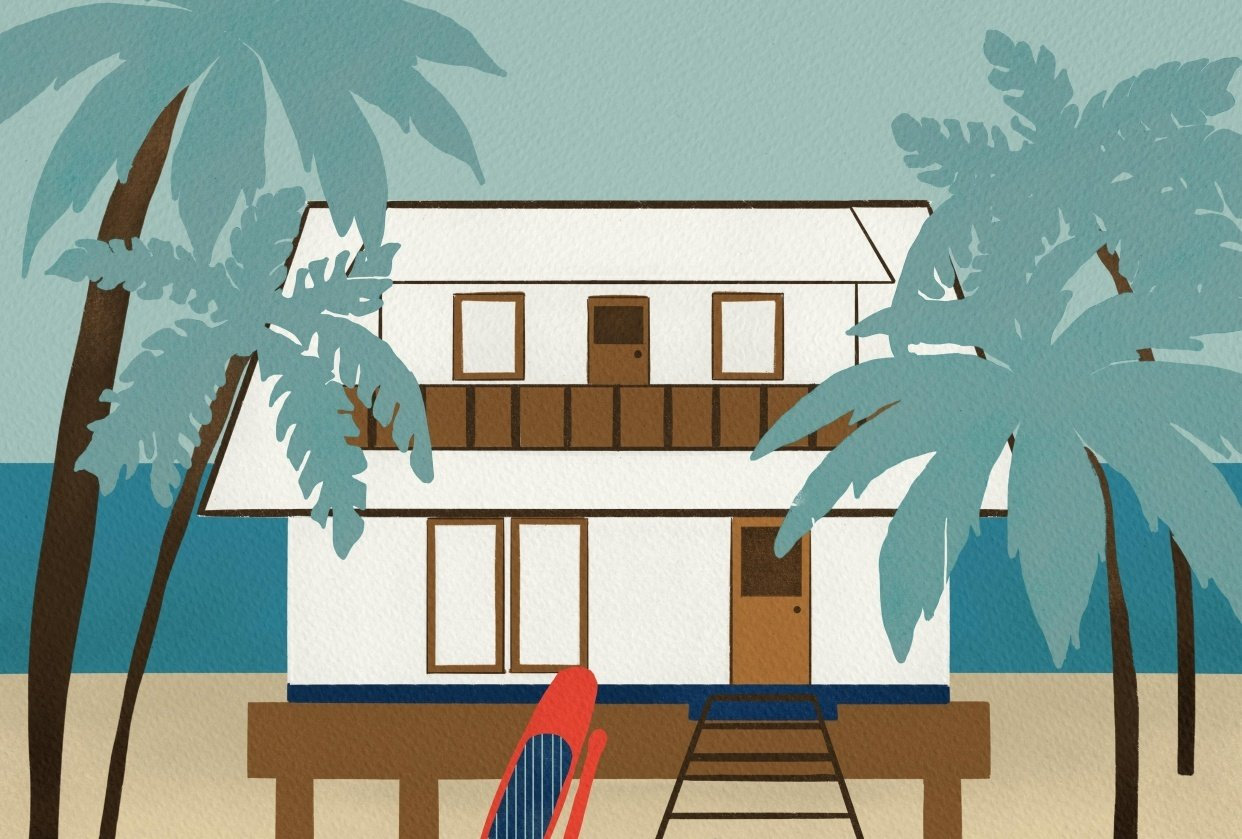 Beach house - student project