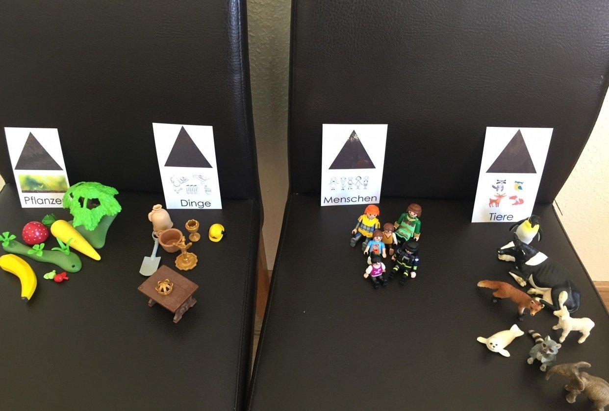Namenwort Einführung im Kindergarten - student project