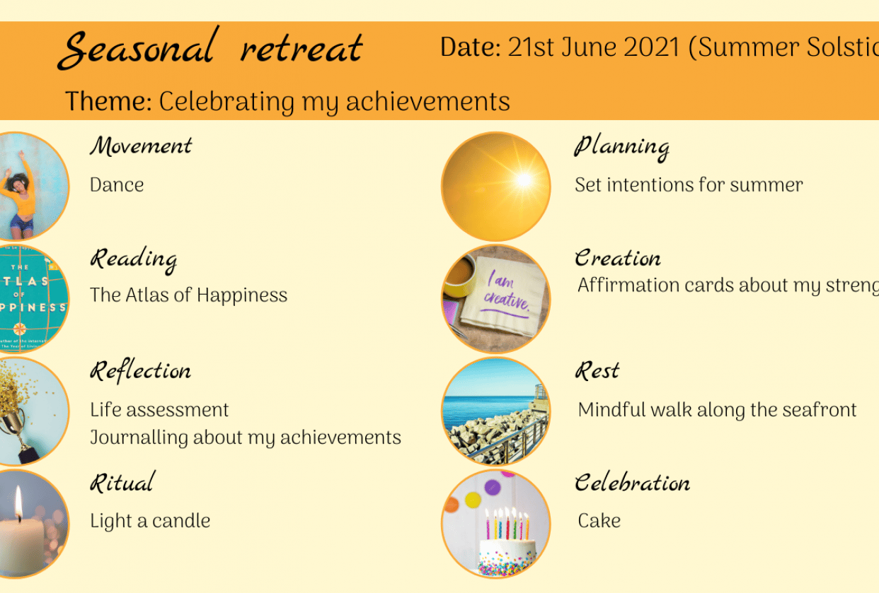 Summer Solstice Retreat - student project