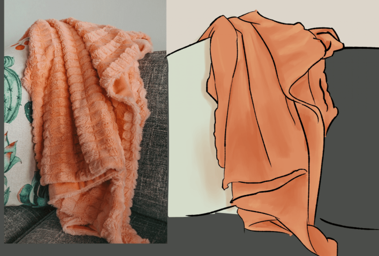Thick blanket - student project