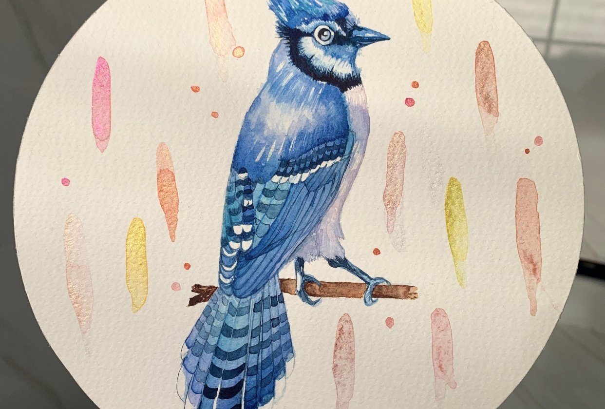 My first bird - student project