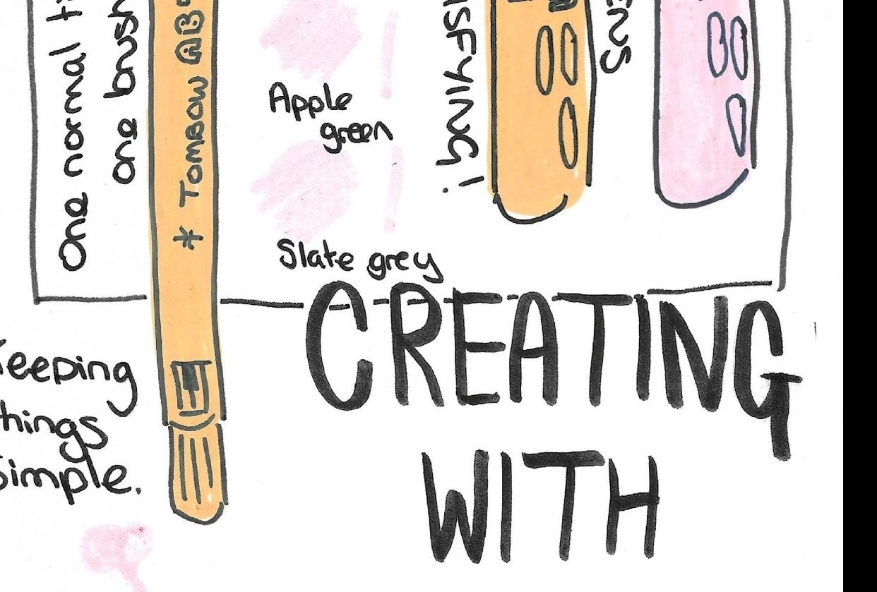 Illustrated journalling - student project