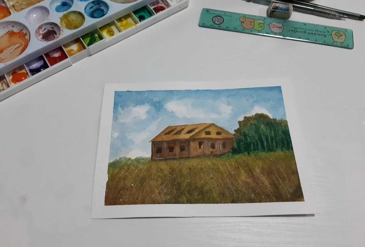 Watercolor - student project