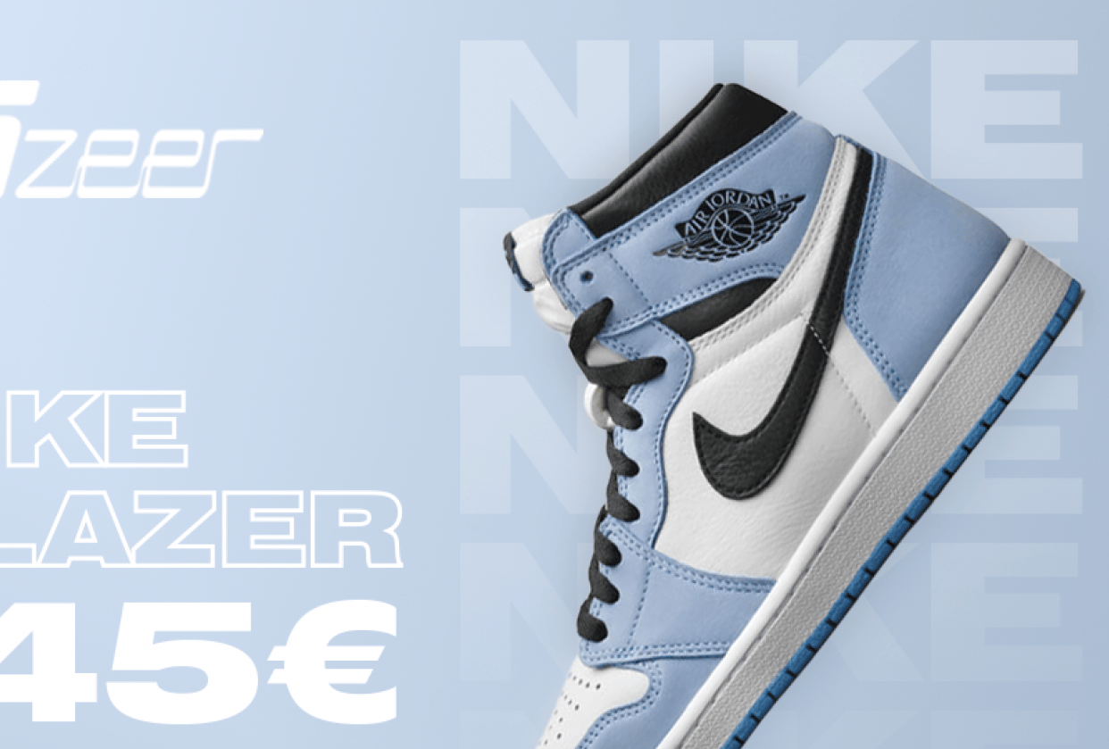Banner for a sneaker shop in Lithuania - student project