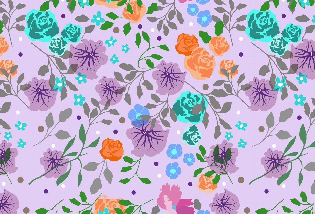 Flowery Patterns - student project