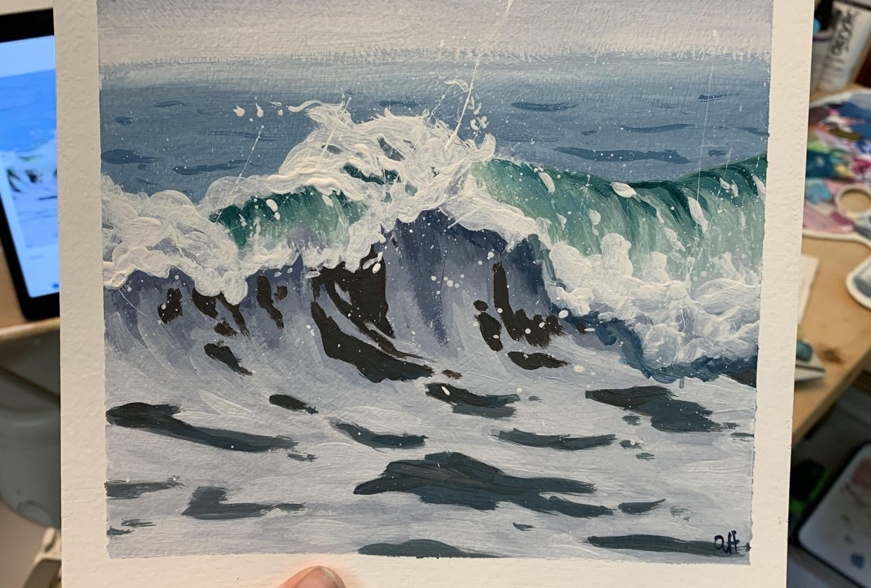 Detailed wave - student project