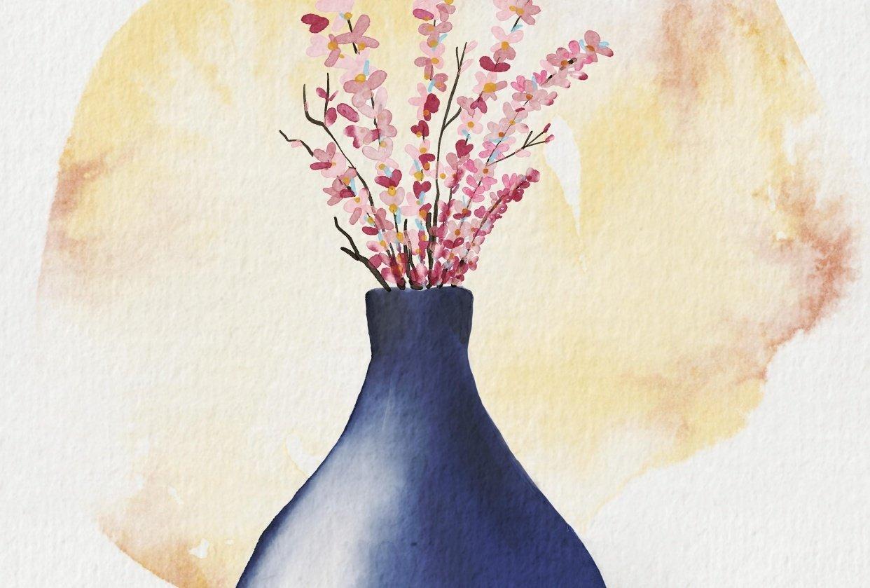 Digital watercolor - student project