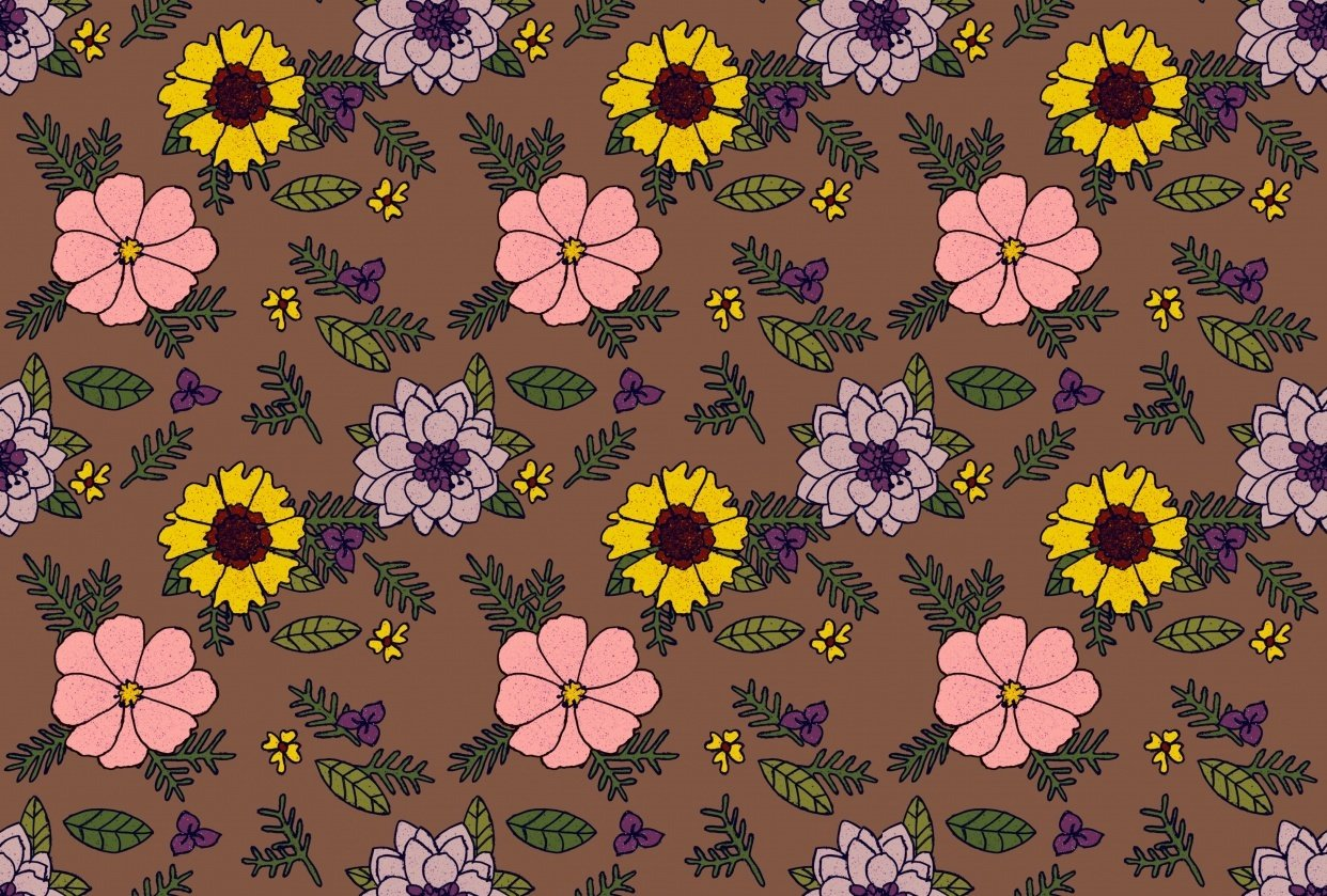 Teddi's Garden Flowers - student project