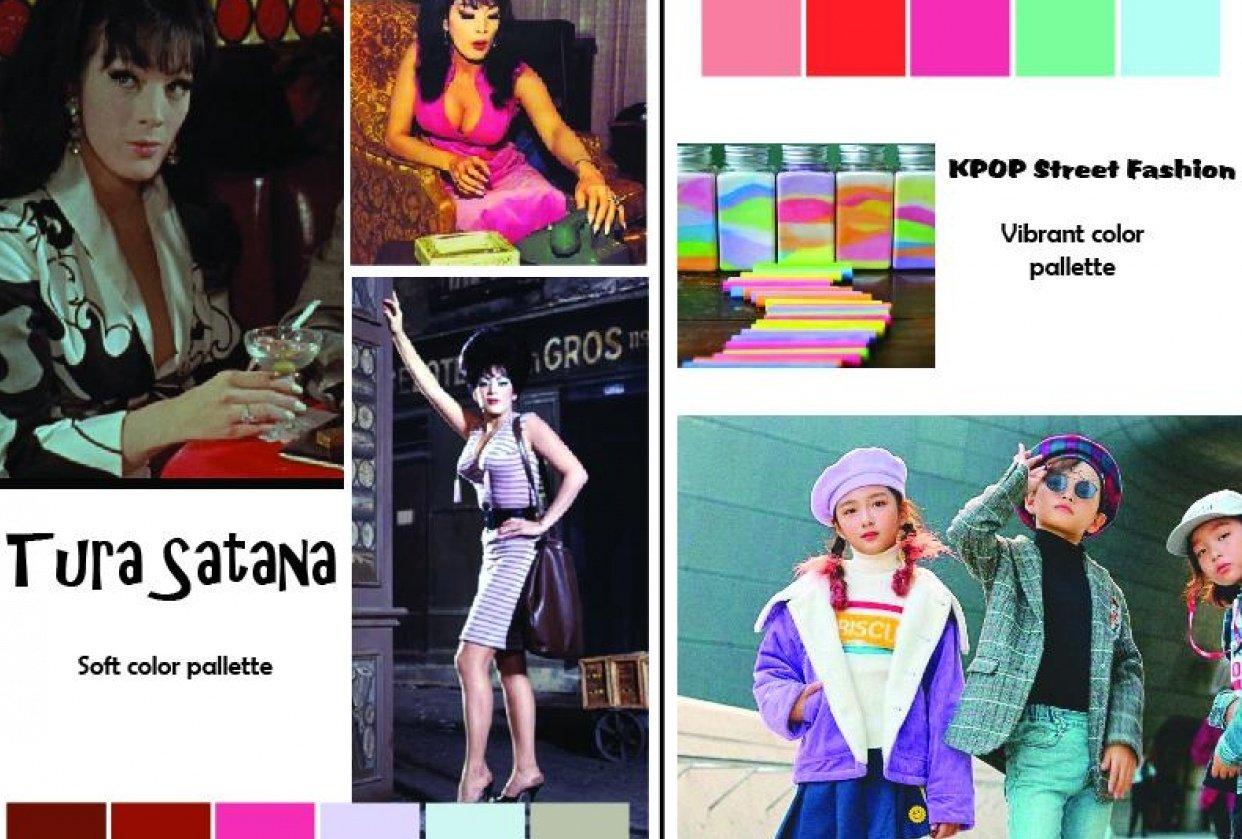 Color Pallettes - student project