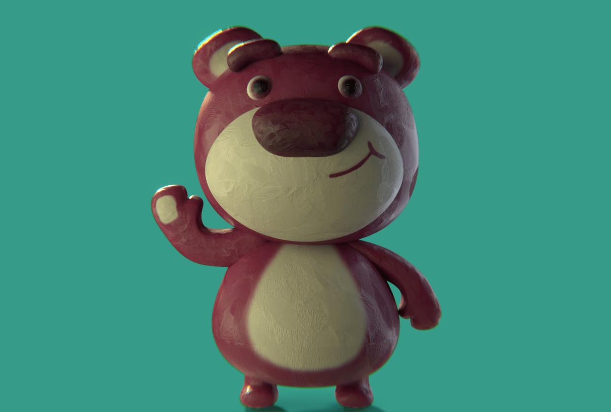 Lotso Bear - student project