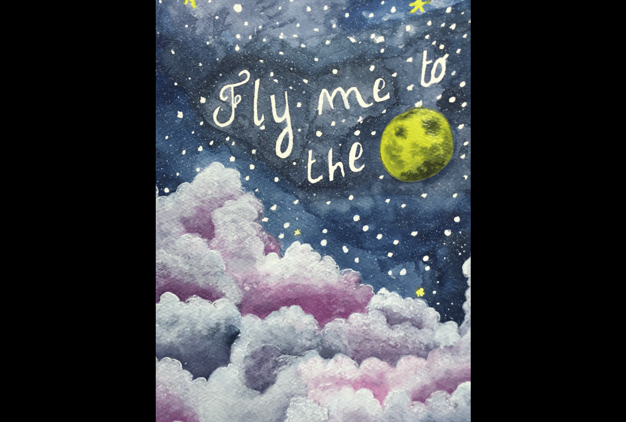 Fly me to the moon - student project