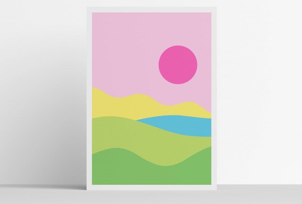 Digital Illustration Prints - student project