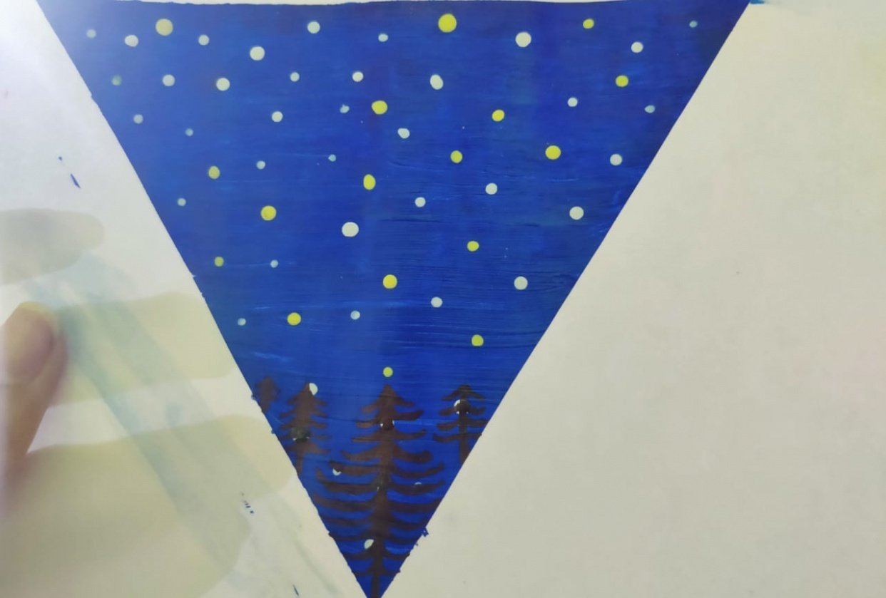These are my paintings - student project