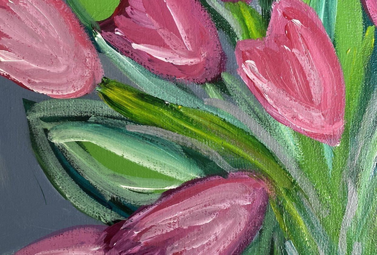 Tulips - student project
