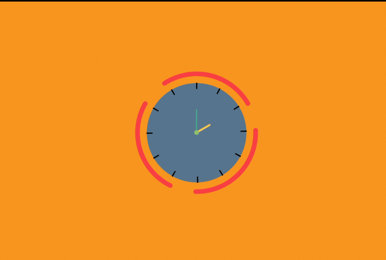 The clock project - student project
