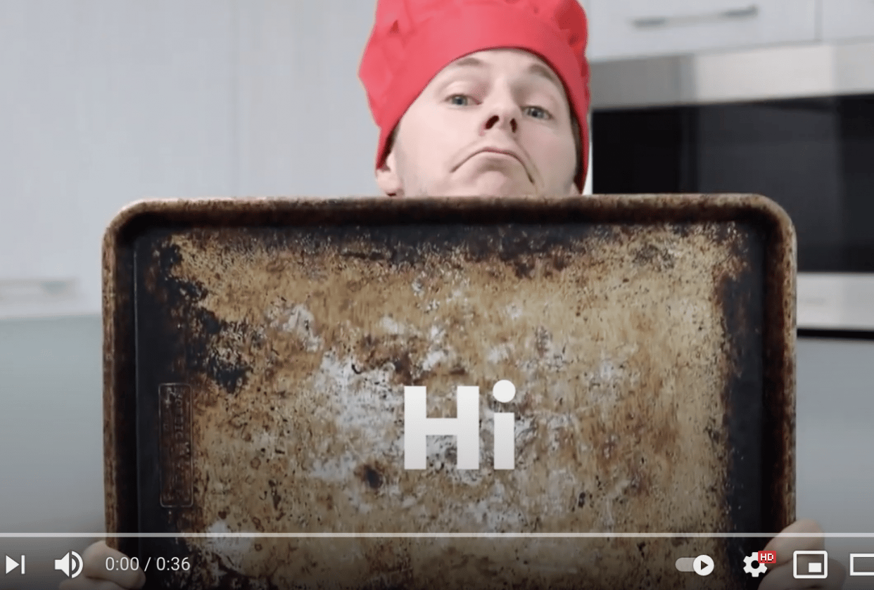 Cooking Up A Video - student project