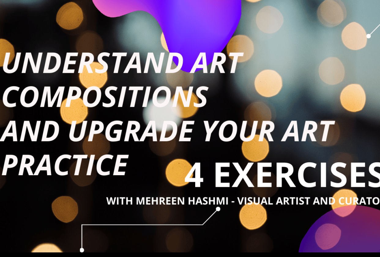 Understand art compositions and make your practice unique - student project